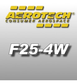 F25-4W - Aerotech Single Use Rocket Motor 29 mm