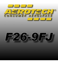 F26-9FJ - Aerotech Single Use Rocket Motor 29 mm