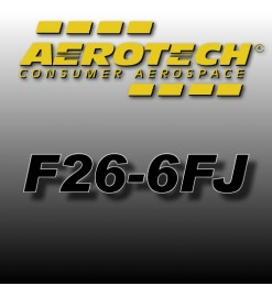 F26-6FJ - Aerotech Single Use Rocket Motor 29 mm