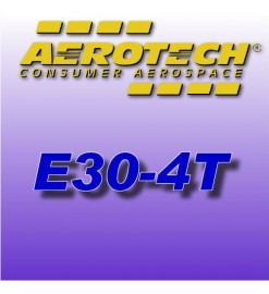 E30-4T - Aerotech Single Use Rocket Motor 24 mm (2-pak)
