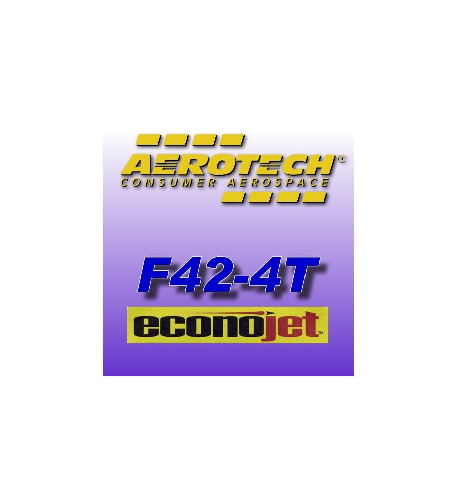 F42-4T Econojet (2 pz.) - Aerotech Single Use Rocket Motors 29 mm