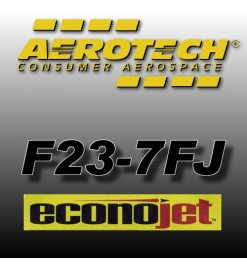 F23-7FJ Econojet (2 pz.) - Aerotech Single Use Rocket Motors 29 mm