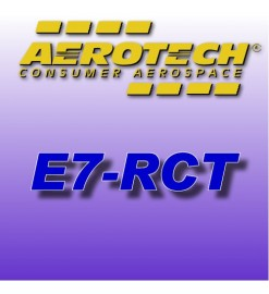 E7-RCT - Reloads 24 mm Aerotech