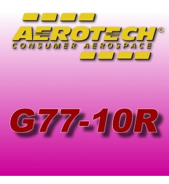 G77-10R - Aerotech Single Use Rocket Motor 29 mm