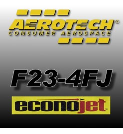 F23-4FJ Econojet (2 pz.) - Aerotech Single Use Rocket Motors 29 mm