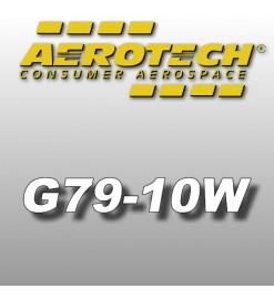 G79-10W - Aerotech Single Use Rocket Motor 29 mm