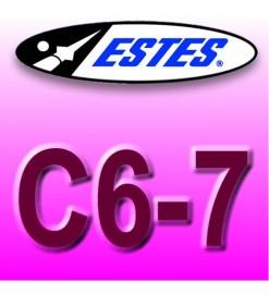 Estes rocket motors C6-7