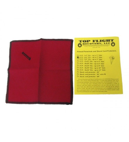"""Flameproof protection FCP-6""""x6"""" - Top Flight"""