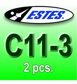 Estes rocket motors C11-3 (2 pcs.)