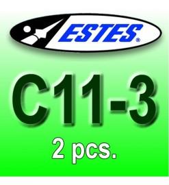 Motori Estes C11-3 (2 pz.)