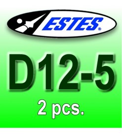 Estes rocket motors D12-5 (2 pcs.)