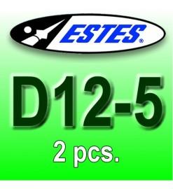 Motori Estes D12-5 (2 pz.)