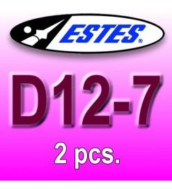Motori Estes D12-7 (2 pz.)