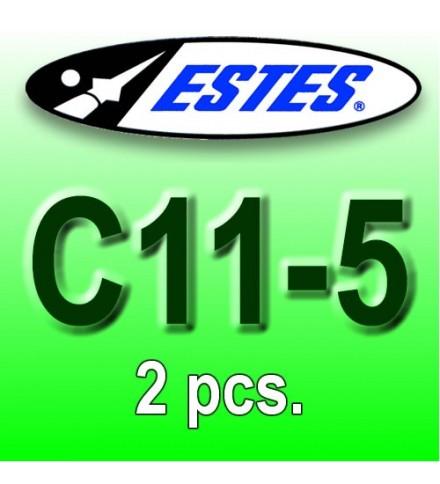 Estes rocket motors C11-5 (2 pcs.)
