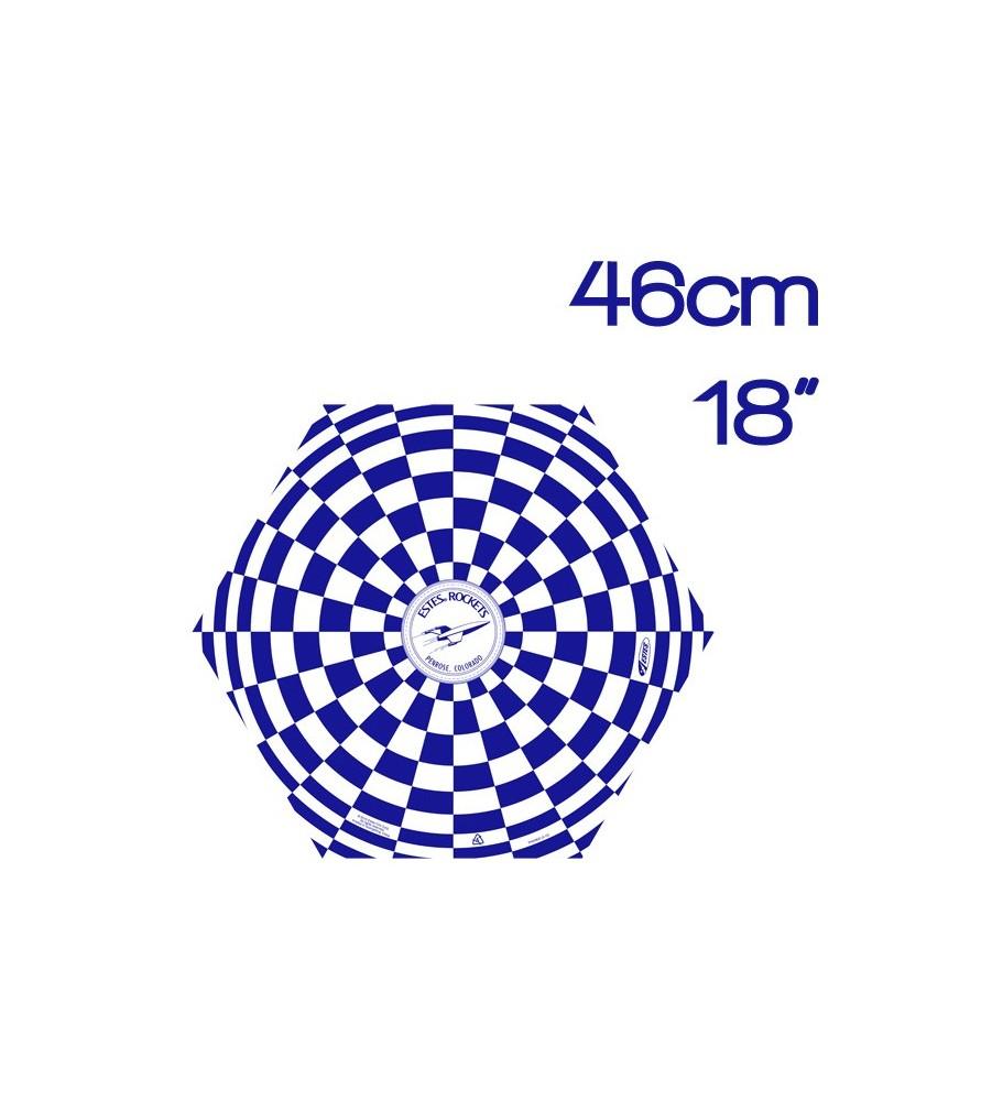 "Plastic parachute Estes 46 cm (18"")"