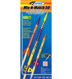 Rocket kit Mix-n-Match 50 - Estes