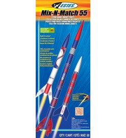Rocket kit Mix-n-Match 55 - Estes