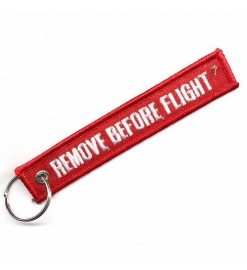 Remove Before Flight ribbon