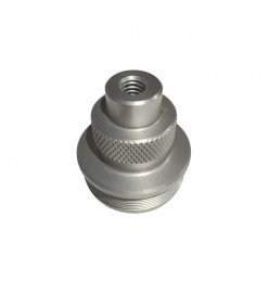 Forward Closure threaded and plugged - 38 mm - Monster Motors