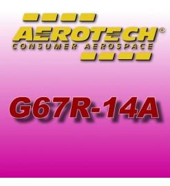 G67R-14A - Ricarica 38 mm Aerotech