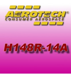 H148R-14A - Ricarica 38 mm Aerotech