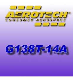 G138T-14A- Aerotech reload 29 mm