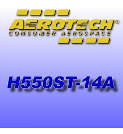 H550ST-14A - Ricarica 38 mm Aerotech