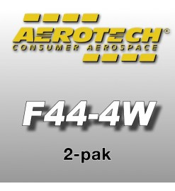 F44-4W Economax (2 pz.) - Aerotech Single Use Rocket Motors 24 mm