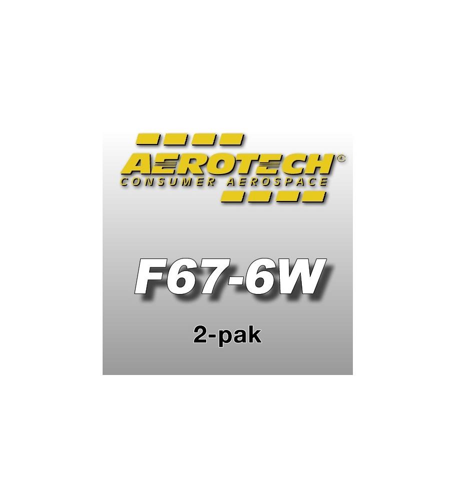 F67-6W Economax (2 pz.) - Aerotech Single Use Rocket Motors 29 mm