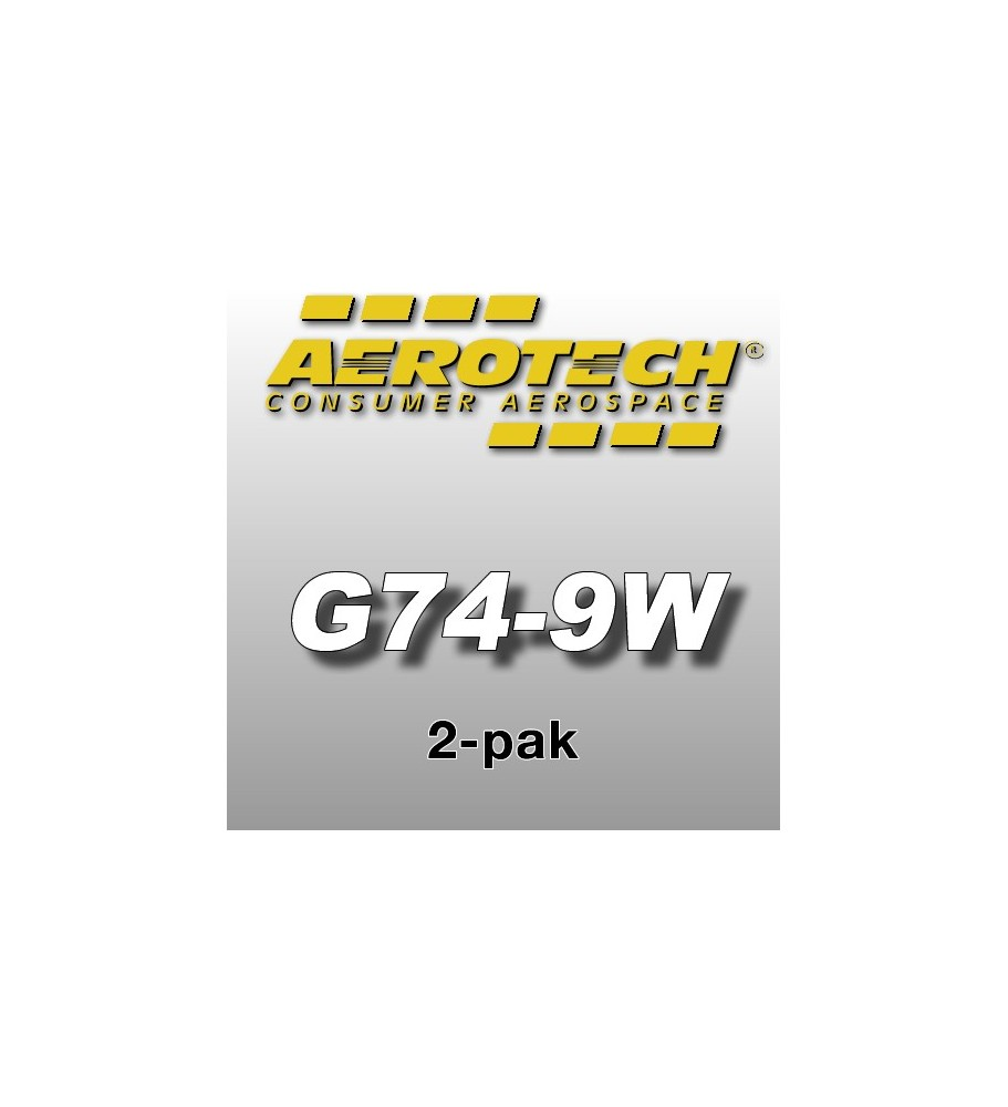 G74-9W Economax (2 pcs.) - Aerotech Single Use Rocket Motors 29 mm