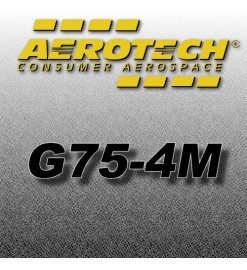 G75-4M - Aerotech Single Use Motor 29 mm