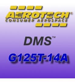 G125T-14A - Motore Aerotech DMS monouso 29 mm
