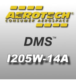 I205W-14A - Aerotech Single Use DMS Motor 29 mm