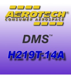 H219T-14A - Motore Aerotech monouso 38 mm