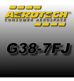 G38-7FJ - Aerotech Single Use Rocket Motor 29 mm
