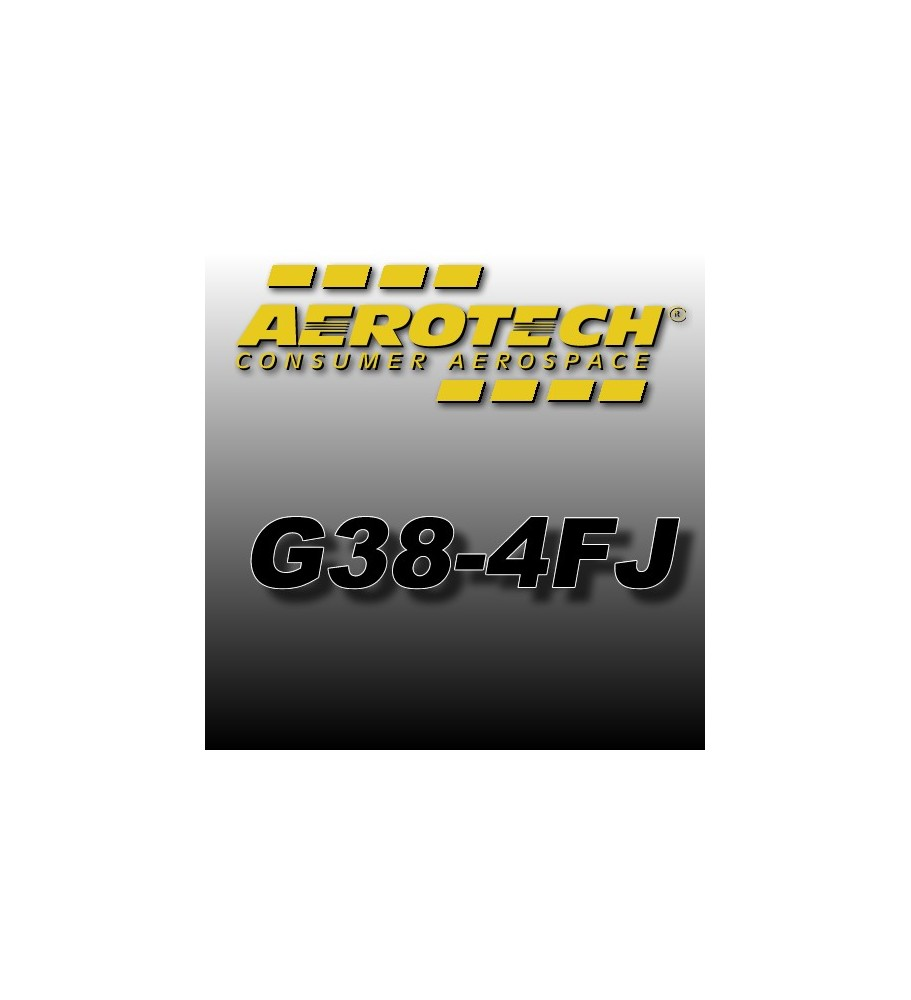 G38-4FJ - Aerotech Single Use Rocket Motor 29 mm