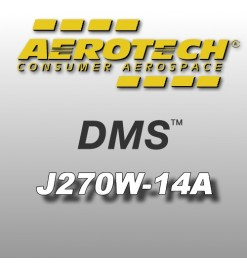 J270W-14A - Aerotech Single Use DMS Motor 38 mm