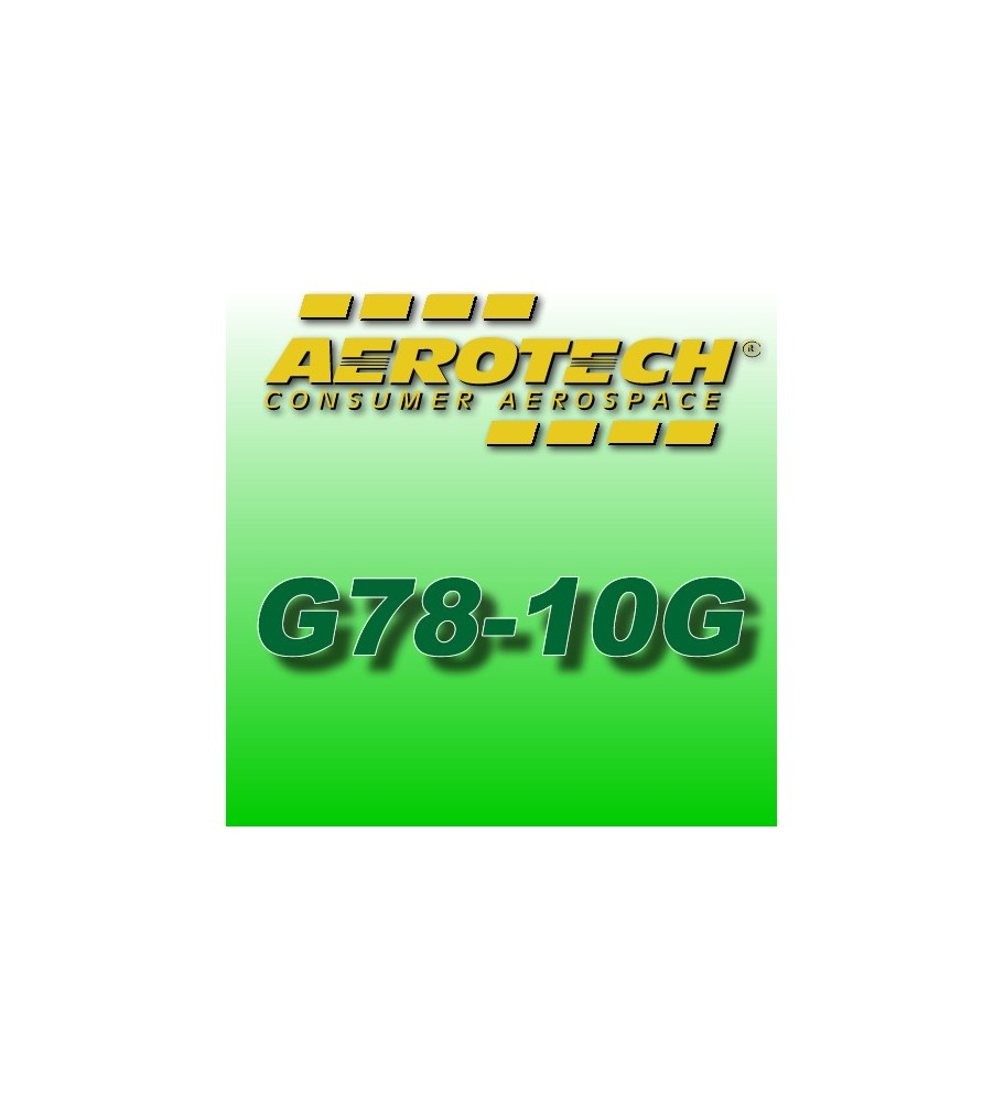 G78-10G - Aerotech Single Use Rocket Motor 29 mm