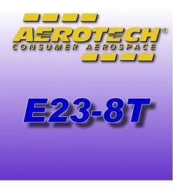 E23-8T - Reload 29 mm Aerotech