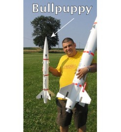 Rocket kit BullPuppy - Public Missiles Ltd.