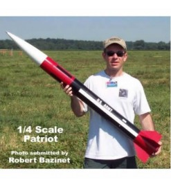 Rocket kit 1:4 Patriot 38mm - Public Missiles Ltd.