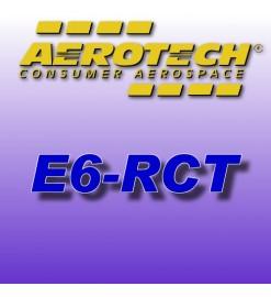 E6-RCT - Ricariche 24 mm Aerotech