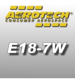E18-7W - Reloads 24 mm Aerotech