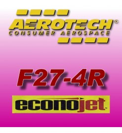 F27-4R Econojet - Aerotech Single Use Rocket Motors 29 mm