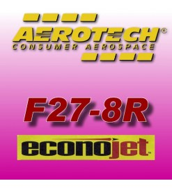 F27-8R Econojet - Aerotech Single Use Rocket Motors 29 mm