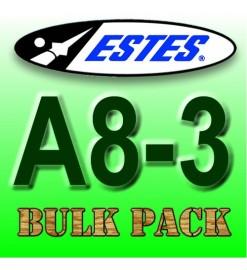 Motori Estes A8-3 Bulk Pack