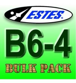 Motori Estes B6-4 Bulk Pack