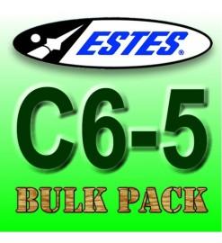 Estes rocket motors C6-5 Bulk Pack