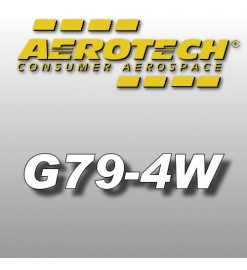 G79-4W - Aerotech Single Use Rocket Motor 29 mm