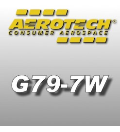 G79-7W - Aerotech Single Use Rocket Motor 29 mm